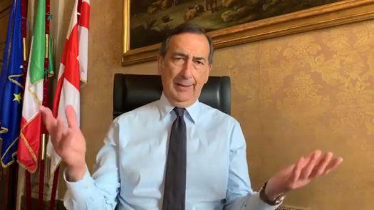 in un video su facebook il sindaco di milano giuseppe beppe sala